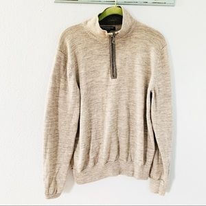 Express Design Studio Gray Merino Wool Sweater SzM